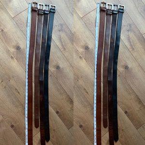 Various Belts Bundle
